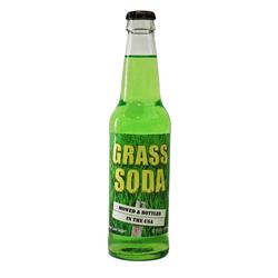 Rocket Fizz Grass Soda (355ml)
