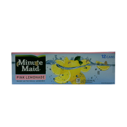 Minute Maid Pink Lemonade - case of 12 (BB: 18/11/13)