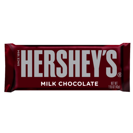 Hershey's Milk Chocolate Candy bar