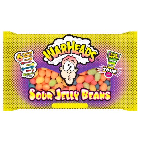 WarHeads Sour Jelly Beans Bag