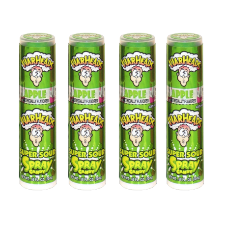 WarHeads Super Sour Spray Candy Green Apple