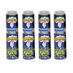 WarHeads Super Sour Spray Candy Blue Raspberry