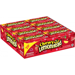 Ferrara Pan Chewy Lemon Head Redrific