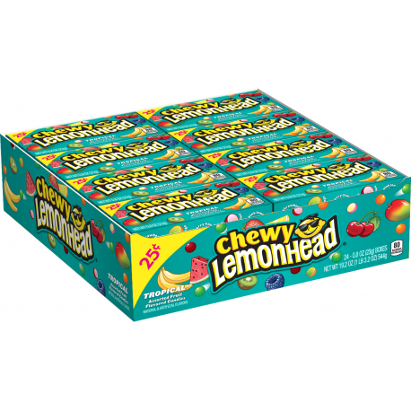 Ferrara Pan Chewy Lemon Head Tropical