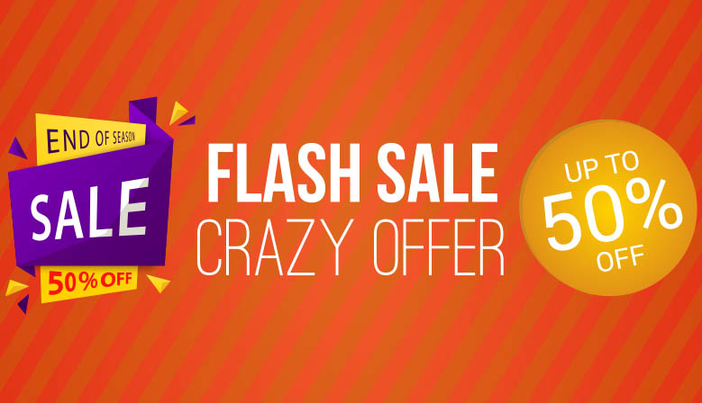 Flash Sale Now On!