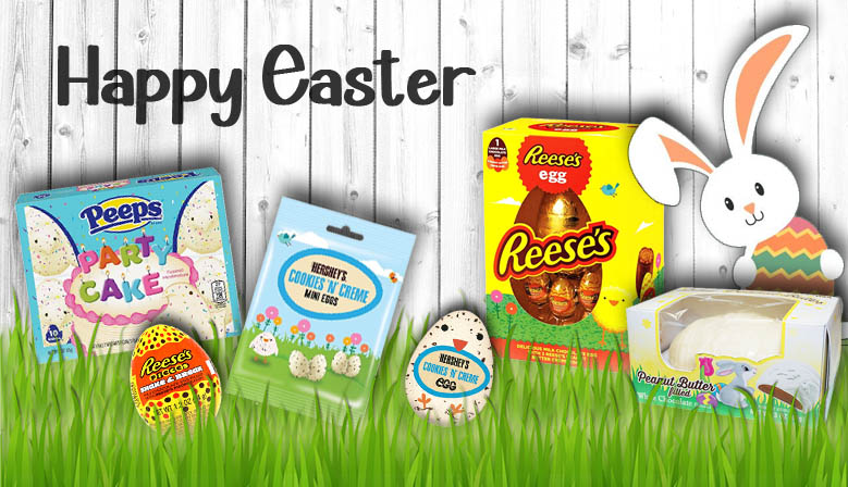 Easter Items now in stock