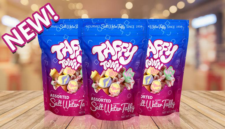 Taffy Town Gourmet Salt Water Taffy Assorted