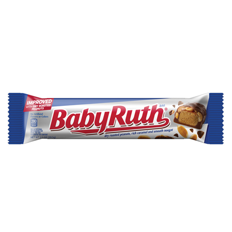Baby Ruth Bar (53.8g) | The American Candy Store