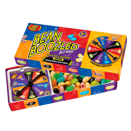 Have you ever played the BEAN BOOZLED JELLY BEAN game ...